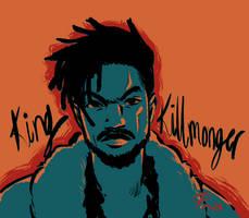 Killmonger by ginmushroom