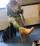 Smelly classmate feet