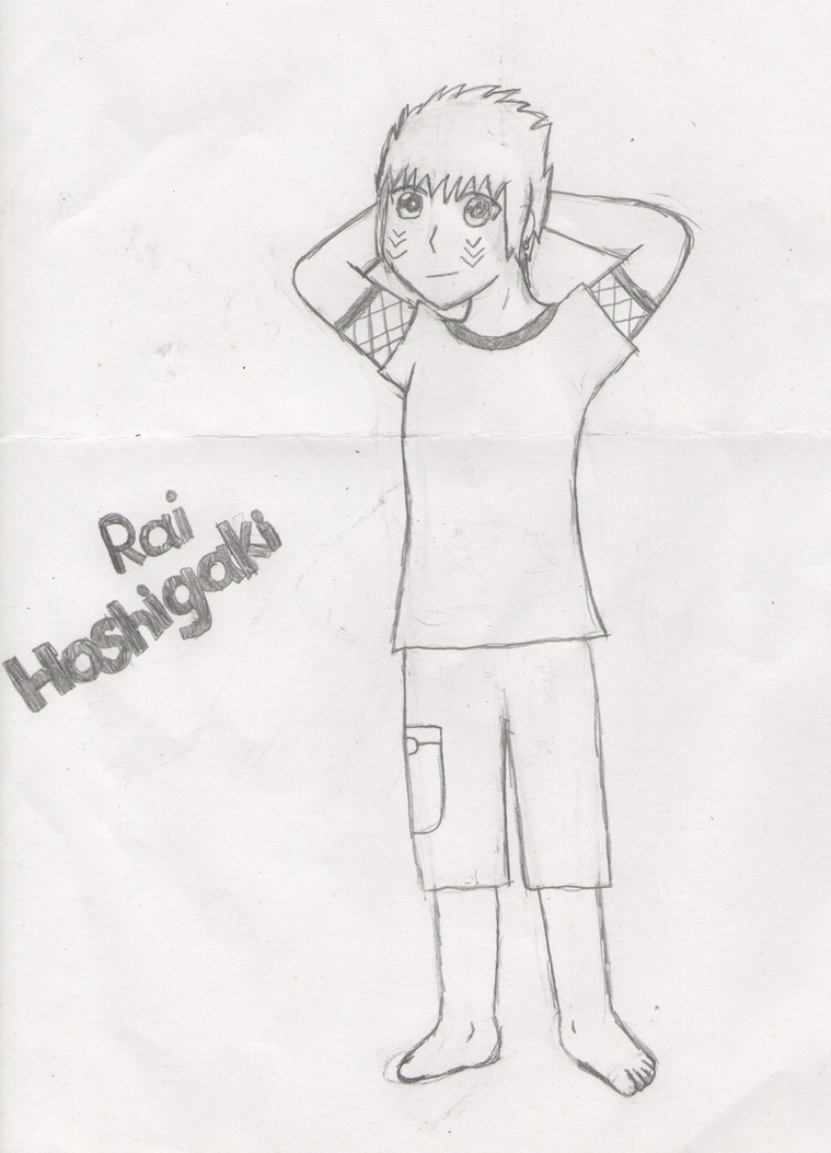 Rai Hoshigaki-pencil by MaiShark