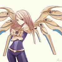 Aether Wing Kayle by kinoko-sama