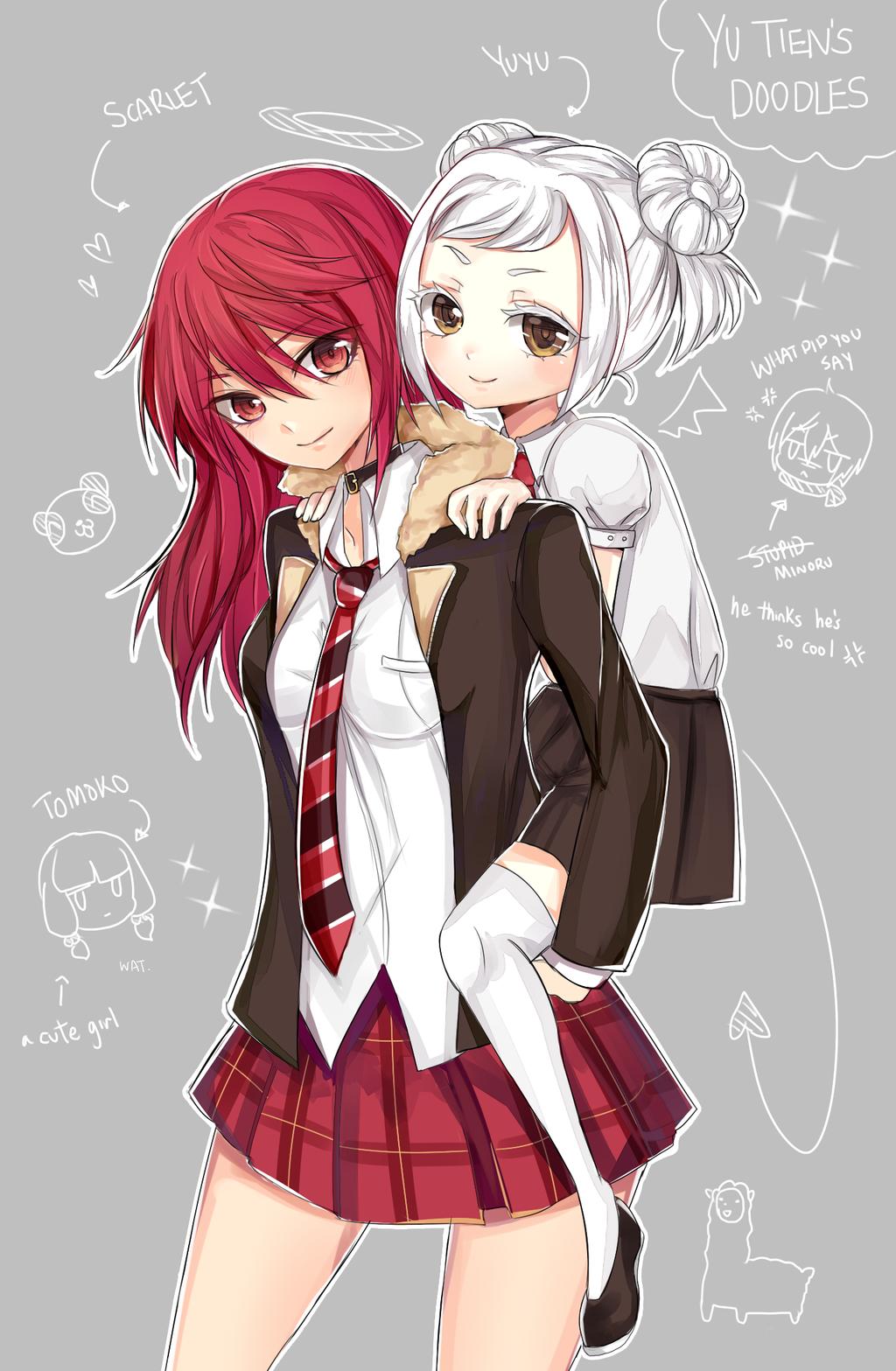 Yu-doodles by kinoko-sama