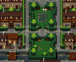 Map test village Pixel Myth : Germania