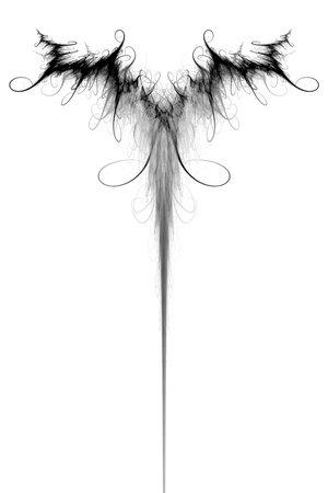Wings tattoo by PZZL