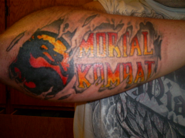 Mortal Kombat Tattoo By Bighurt9488 On Deviantart