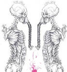 Two Skeleton