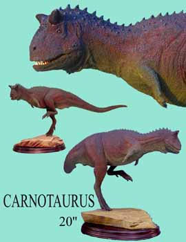 Carnotaurus model