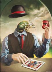 Portrait of a Thousand Mask by back2basic