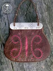 Gokstad leather bag