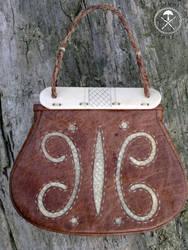 Gokstad leather bag 2