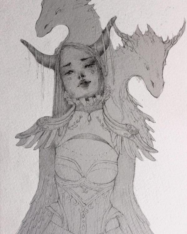 Dragon Empress by ZelphieGray