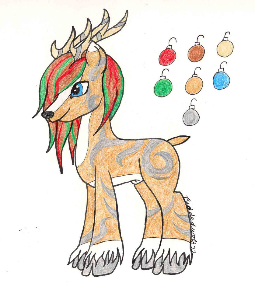 Reindeer Metalsi December DTA ~CLOSED!~ by Beadedwolf22