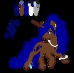 Sapphire Gem Ref by Beadedwolf22