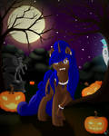 The Beast at Night by Beadedwolf22