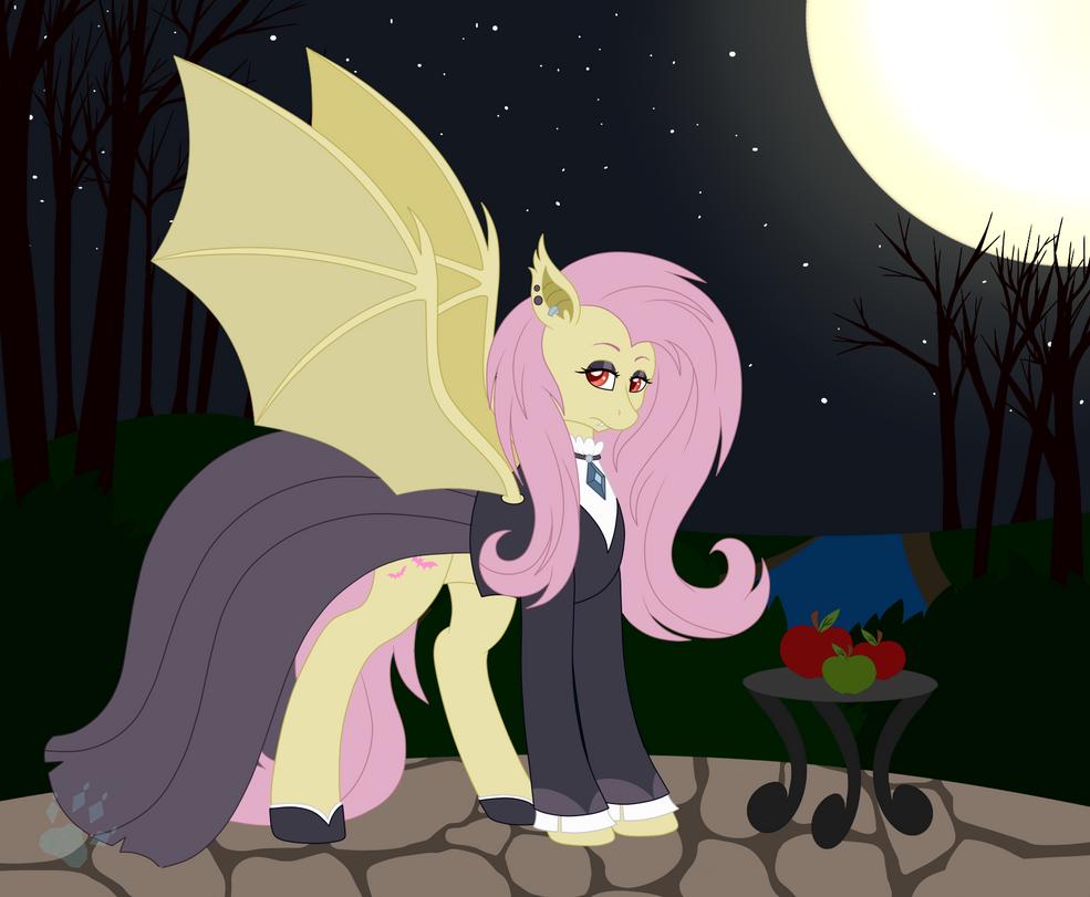 Gothic Flutterbat by Beadedwolf22