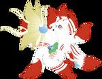 C Inari by Beadedwolf22