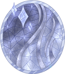 C Polaris Stained Glass by Beadedwolf22