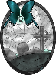 C Sepulchre Stained Glass by Beadedwolf22