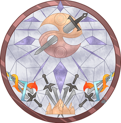 C Arabella Stained Glass by Beadedwolf22