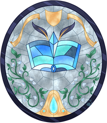 C Liburnia Stained Glass by Beadedwolf22
