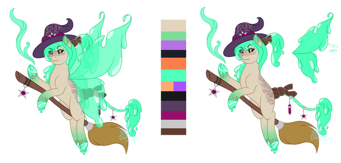 Cocktail Colts Halloween Flat Sale Adopt OPEN!