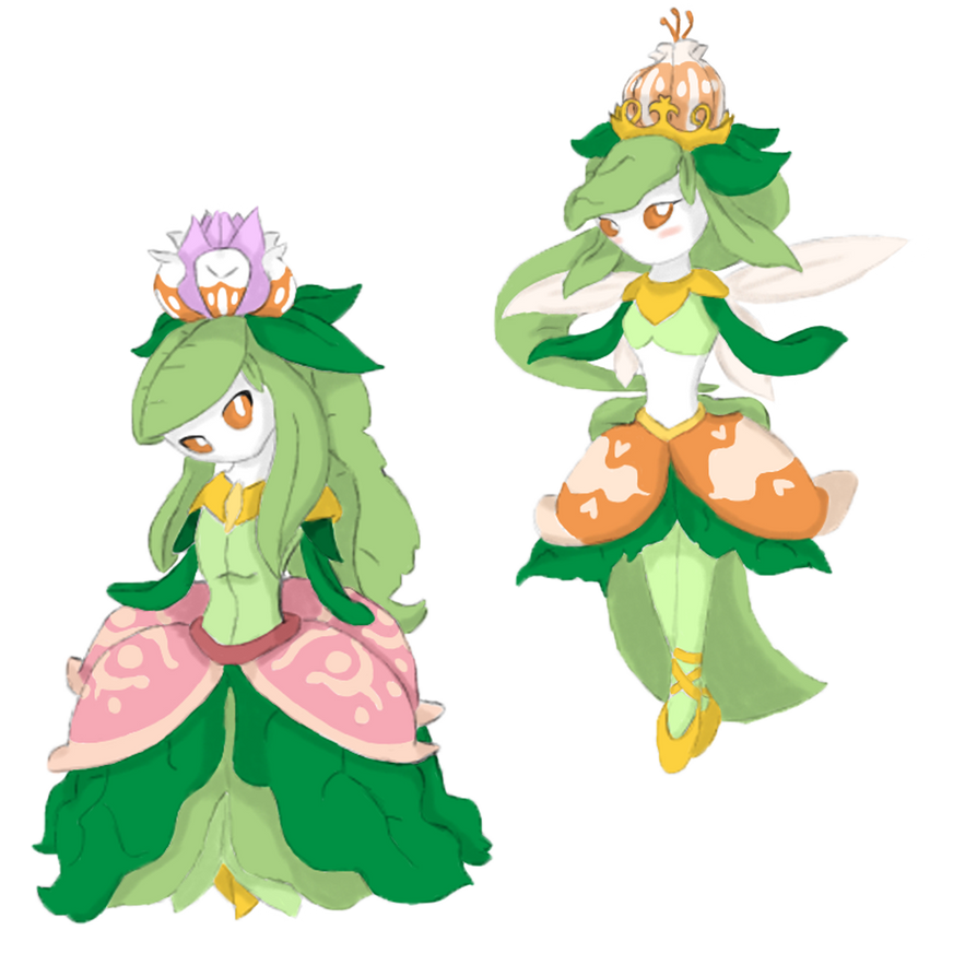 Princess and Fairy Ballerina Mega Lilligant by Call-Of-The ...
