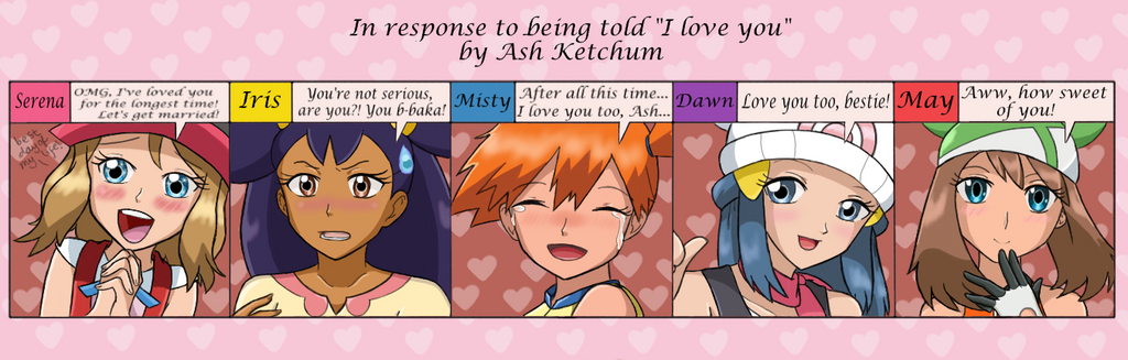 Pokegirls' Reactions Meme by Call-Of-The-Indie on DeviantArt Zelda In Response To Being Told