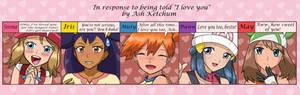 Pokegirls' Reactions Meme