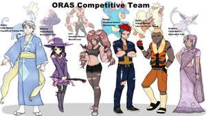 Gijinka Teams - ORAS Edition
