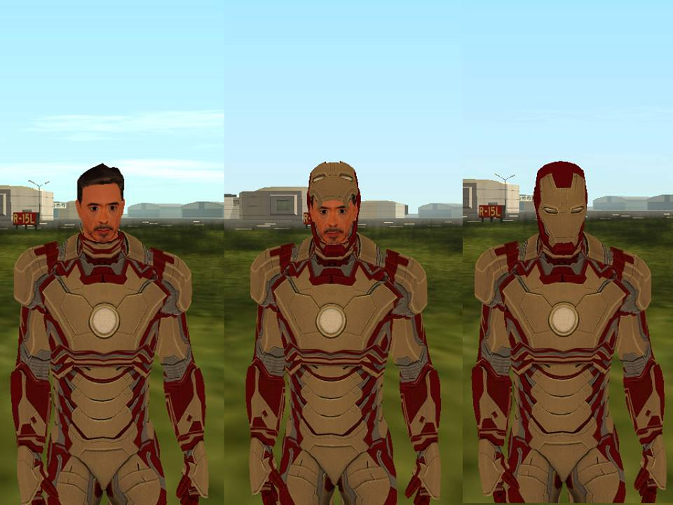 Gta san andreas Ironman 3 customized stark by me  by