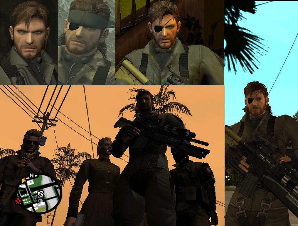 Naked Snakes M1911A1/CQC -V1- [Counter-Strike: Source