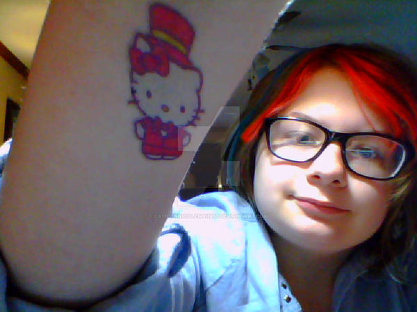 My Broadway Hello Karkitty Tattoo 2 by CaitlynNicoleWright