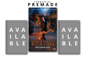 AFTER DARK PREMADE BOOK COVER by BlackRogueX