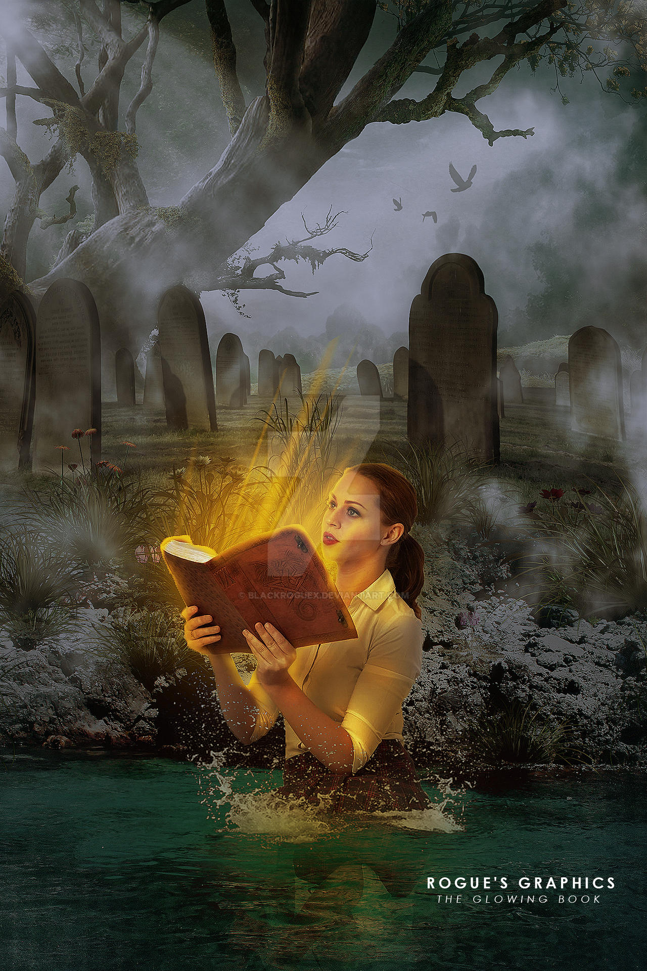 Glowing Book Manipulation