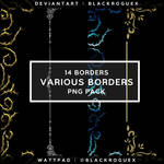 14 BORDERS | PNG PACK