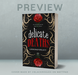 Delicate Deaths - Commercial Book Cover
