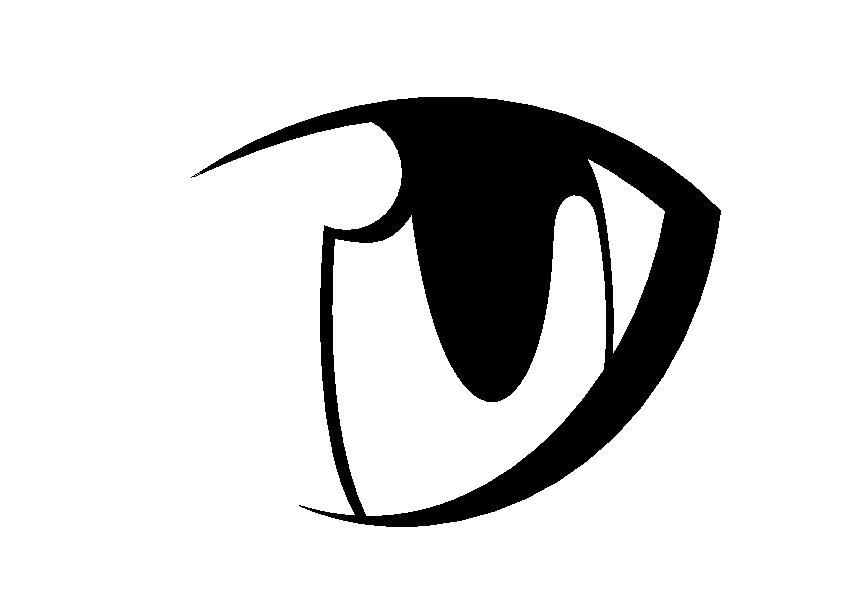 Line Art Eyes : Anime eyes free line art by wolf on deviantart