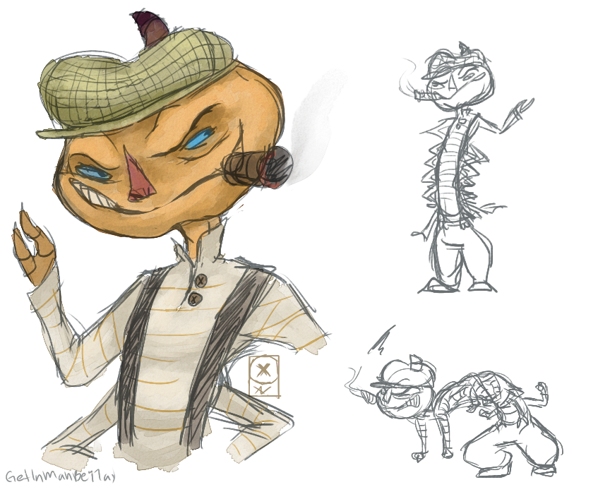 James And The Giant Peach Characters Centipede Centipede by GetInMahB...