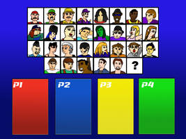Character Selecter Background Like SSBM/SSBB Temp.