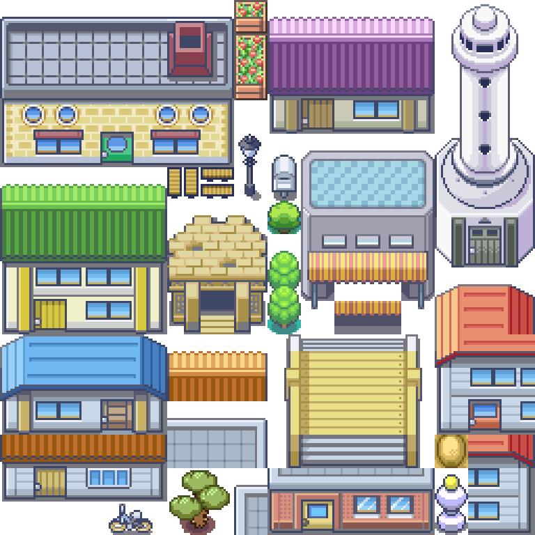 Pokemon, Grass, D