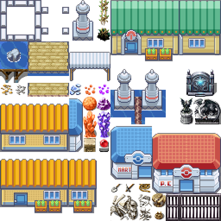 Kanto, City, Vermillion, Pokemon