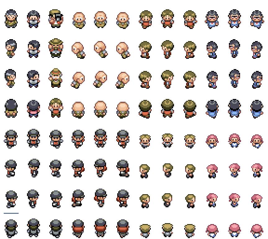Pokemon, npc, sprite, custom
