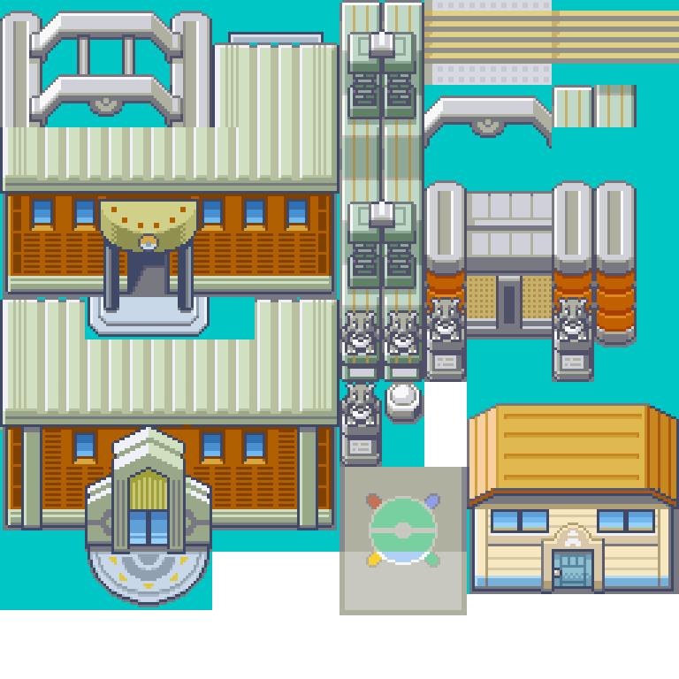 Indigo, League, Tileset, Pokemon