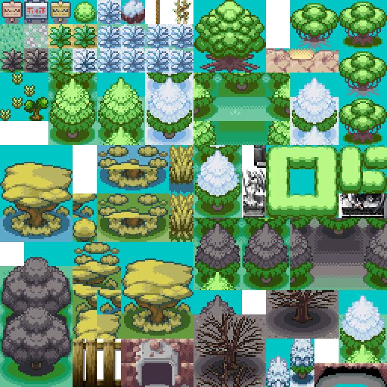 Pokemon, Safari, Plants