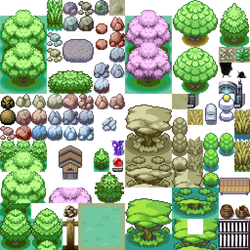 Pokemon Tilesets by skatefilter5 on DeviantArt