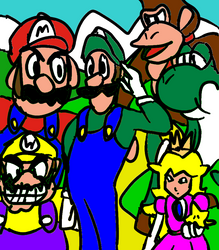 Luigi is the Captain of Mario Party