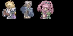 Tales of Destiny Faces