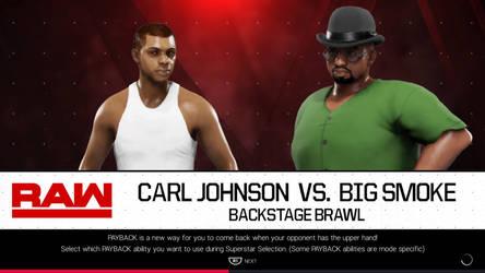 Wwe 2k19 CJ vs Big Smoke