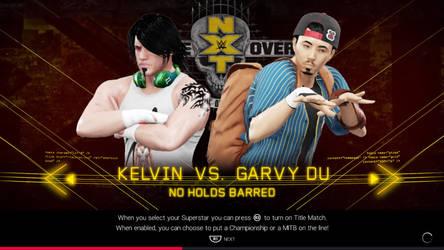 Wwe 2k19 Kelvin vs. Garvy Du