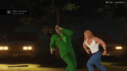 Killbane is slapped by a girl