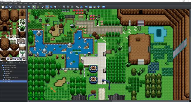 Custom Pokemon Tileset for Rpg maker mz Download